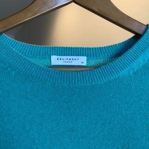 Equipment Sweaters - Equipment sea green sweater
